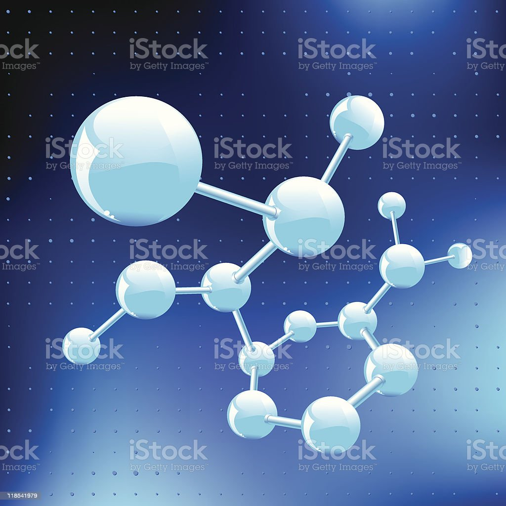Molecular structure royalty-free molecular structure stock vector art & more images of abstract