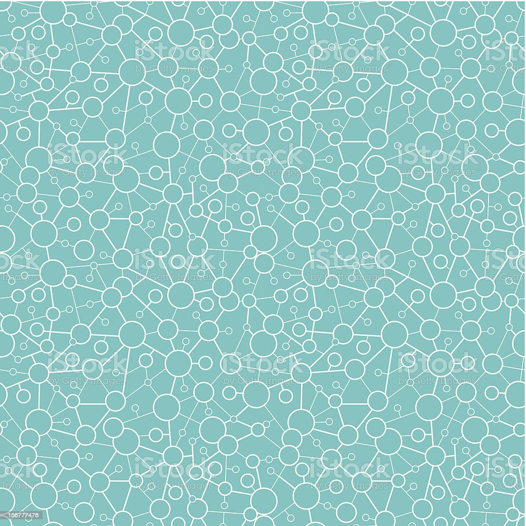 Molecular Texture Seamless Pattern Background royalty-free molecular texture seamless pattern background stock vector art & more images of abstract