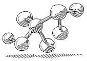 Molecule Chemistry Symbol Drawing