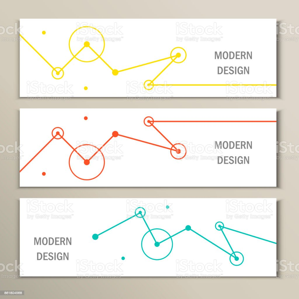 Molecule design template banner. Can be used for work layout, diagram, number options, web vector art illustration