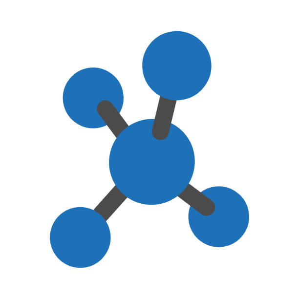 Molecule icon. Vector illustration Molecule icon. Vector illustration amino acid stock illustrations