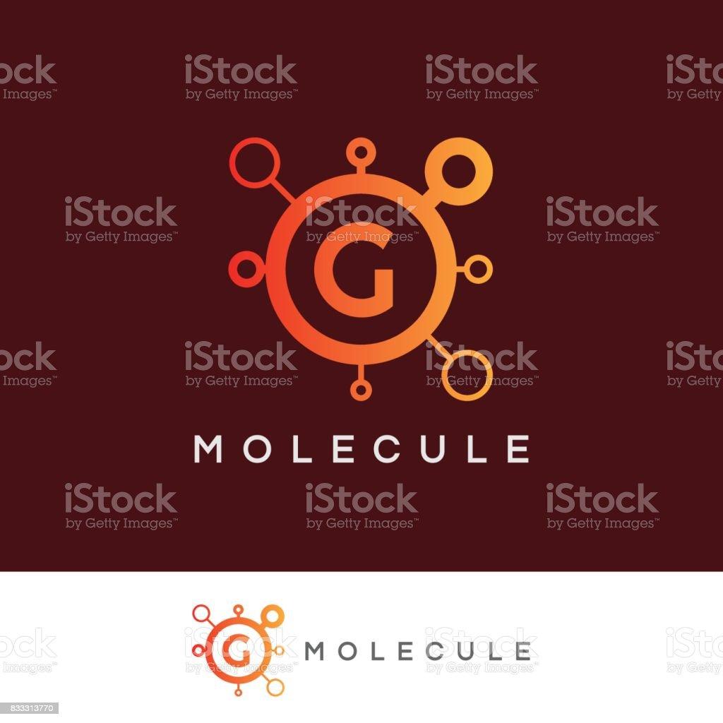 Molecule Initial Letter G Icon Design Stock Vector Art