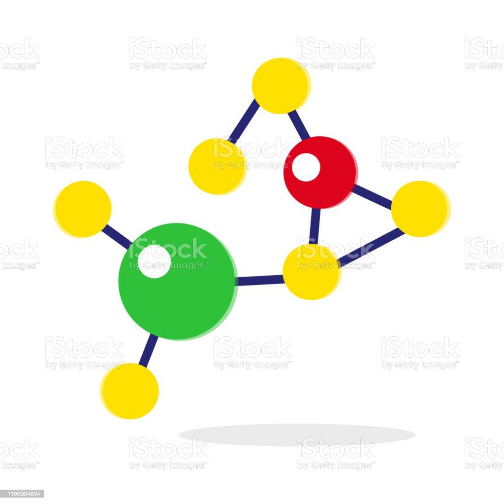 Molekül Ist Der Kleinste Teil Der Materie Der Allein