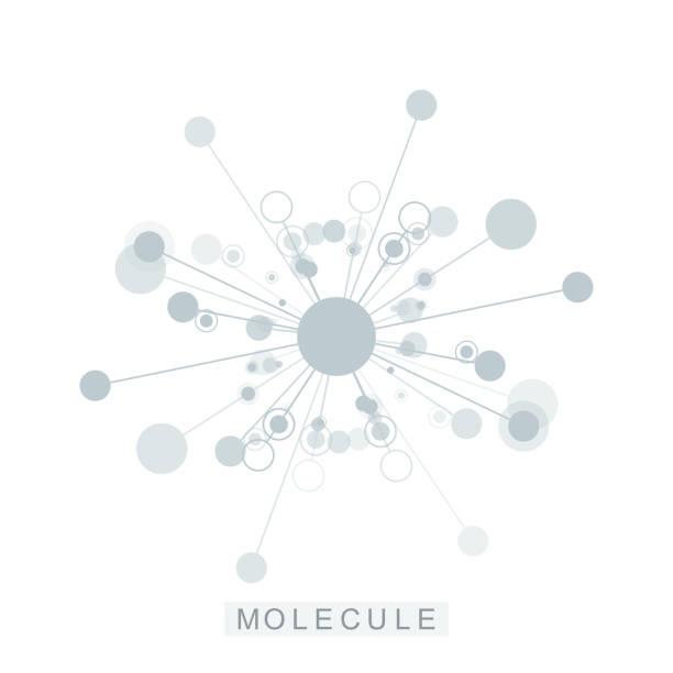 Icône du modèle molécule logo, logotype génétique science, hélice d'ADN. Molécules d'analyse génétique, recherche biotech code ADN. Chromosome du génome de la biotechnologie. Illustration vectorielle - Illustration vectorielle
