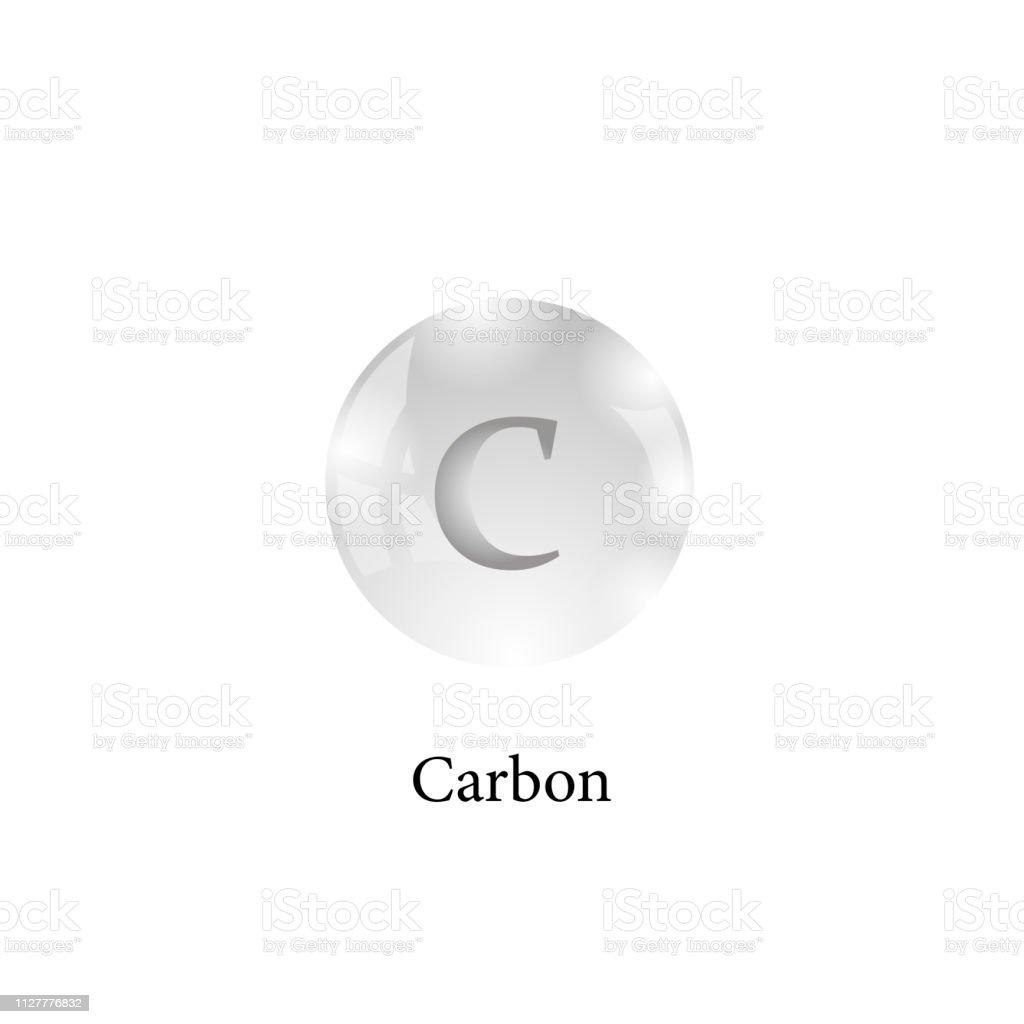 Molecule De Carbone Element Chimique Du Tableau Periodique Vecteurs Libres De Droits Et Plus D Images Vectorielles De Alchimie Istock