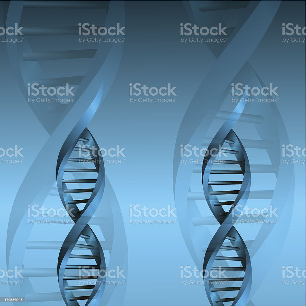 DNA molecule structure background. eps10 vector illustration royalty-free stock vector art
