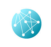 istock Molecule Technology Logo Template 1301378423