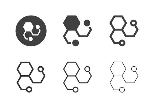 Molecules Icons - Multi Series