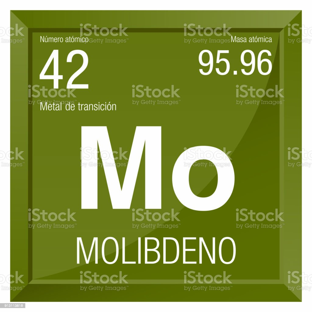Molibdeno symbol molybdenum in spanish language element number 42 of molibdeno symbol molybdenum in spanish language element number 42 of the periodic table of urtaz Gallery