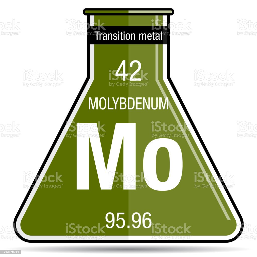 Molybdenum symbol on chemical flask element number 42 of the molybdenum symbol on chemical flask element number 42 of the periodic table of the elements urtaz Image collections