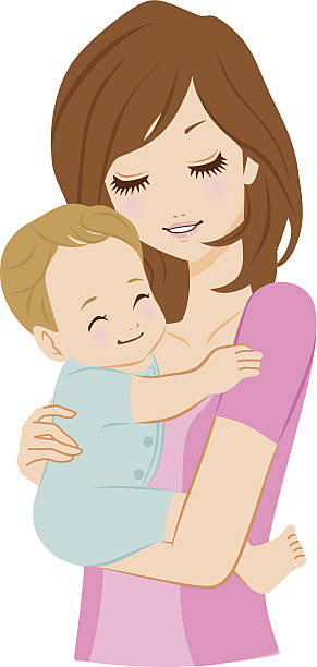 Royalty Free Son Hugging Mother Clip Art, Vector Images ... (291 x 612 Pixel)