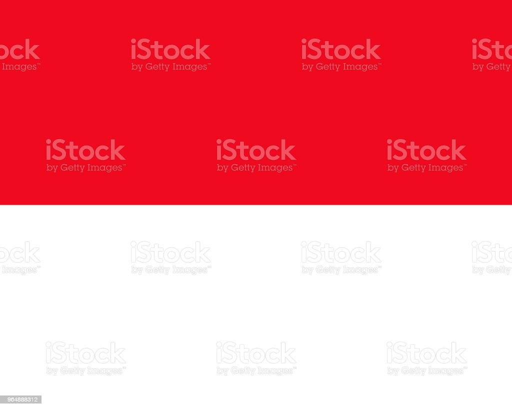 Monaco flag. National flag of Monaco, vector illustration royalty-free monaco flag national flag of monaco vector illustration stock vector art & more images of asia