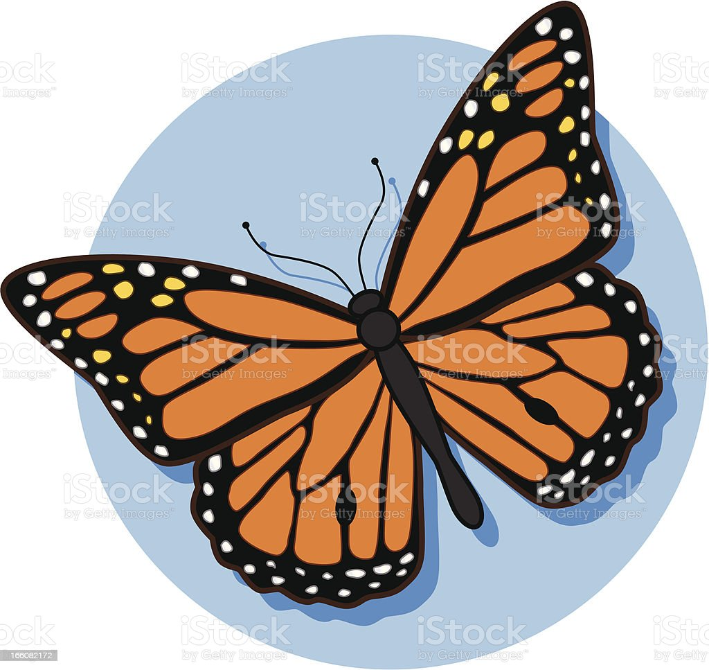 royalty free cartoon monarch butterfly clip art vector images rh istockphoto com cartoon pictures of monarch butterfly Purple Monarch Butterfly