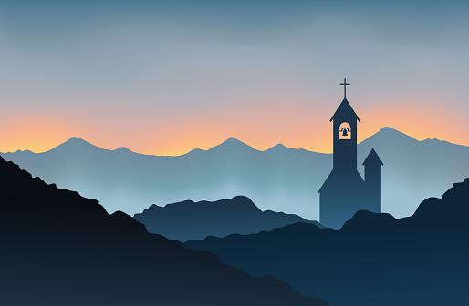 Monastery on the Mountain