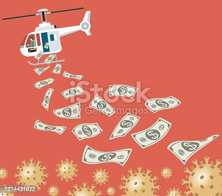 Monetary Policy. illustrator 10 eps file