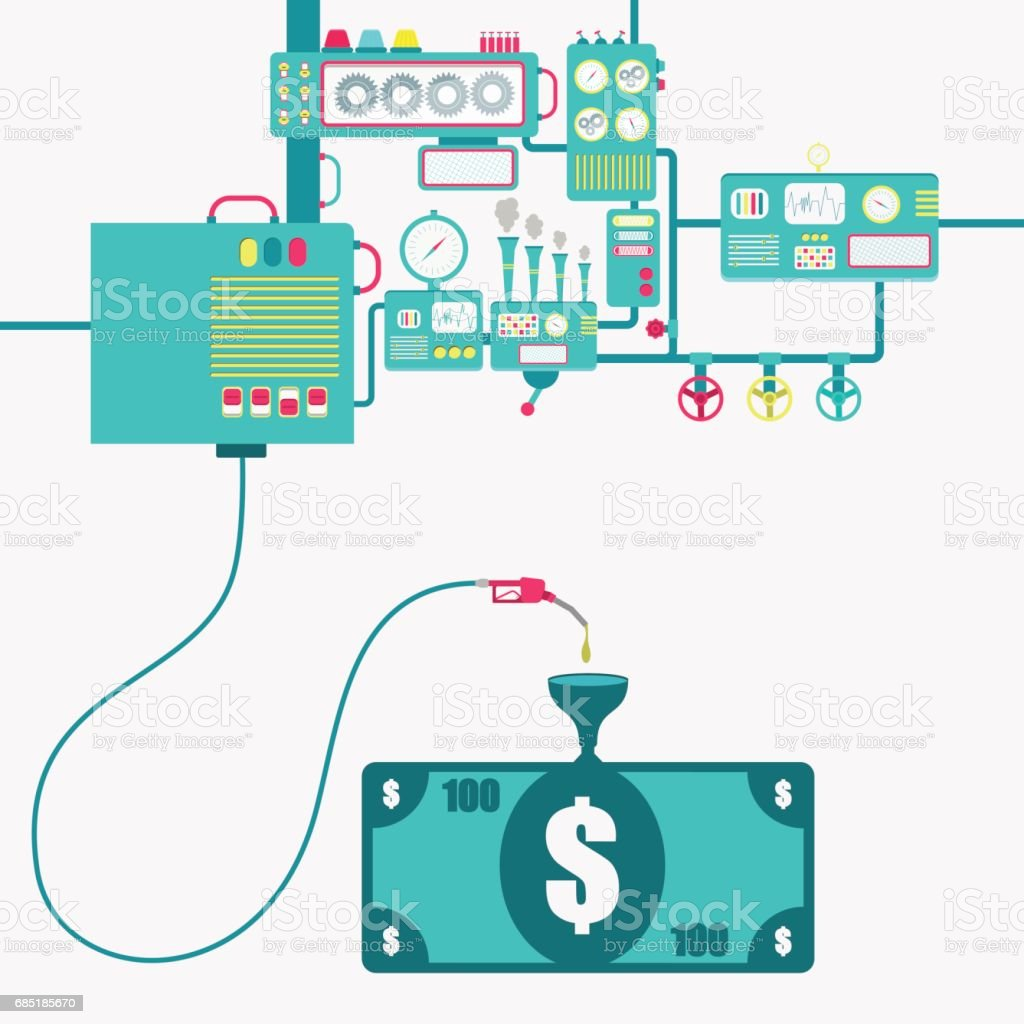 Money and gasoline production royalty-free money and gasoline production stock vector art & more images of brazil