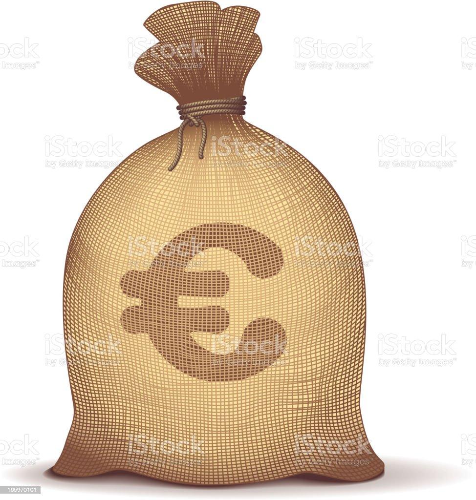 Money bag royalty-free stock vector art