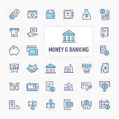 Money & Banking Icon Set