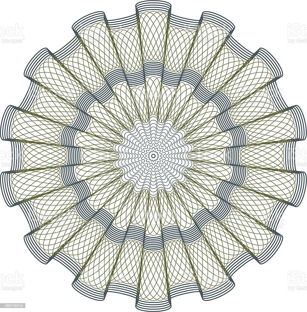 Argent/certificat illustration - Illustration vectorielle