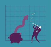 Vector illustration - Money Charmer