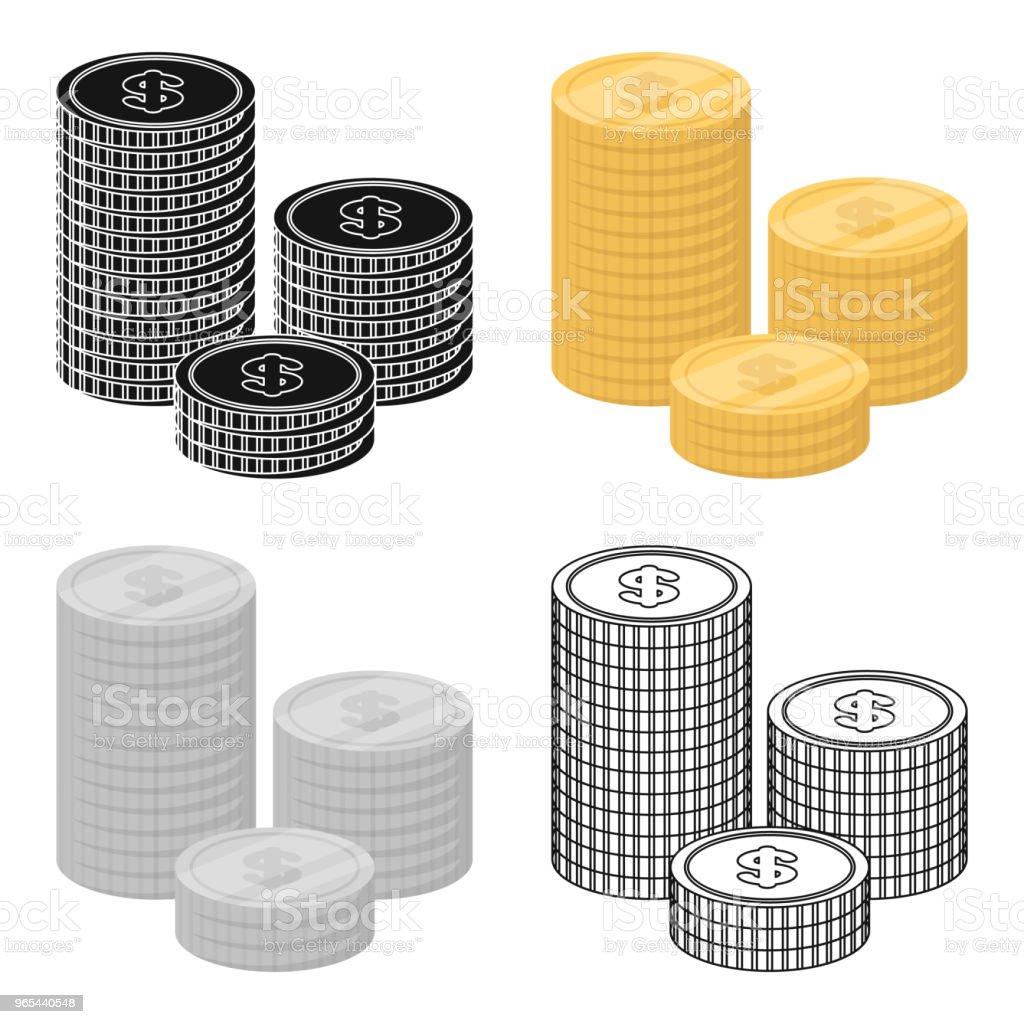 金錢捐贈圖示在卡通樣式被隔絕在白色背景。慈善和捐贈符號股票向量 web 插圖。 - 免版稅人圖庫向量圖形