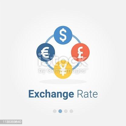 Money Exchange vector icon