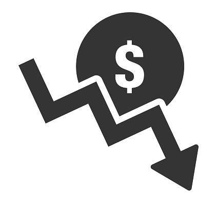 Money Fall Icon