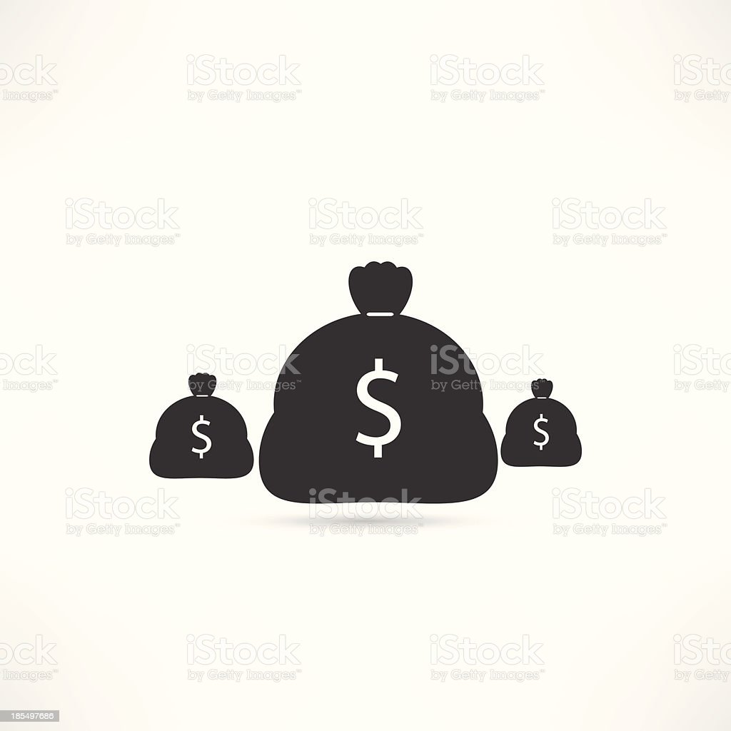money icon royalty-free money icon stock vector art & more images of bag