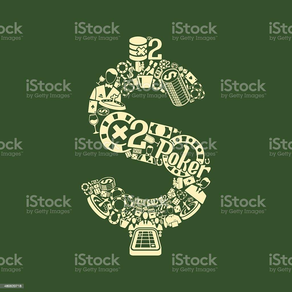 money icon vector art illustration