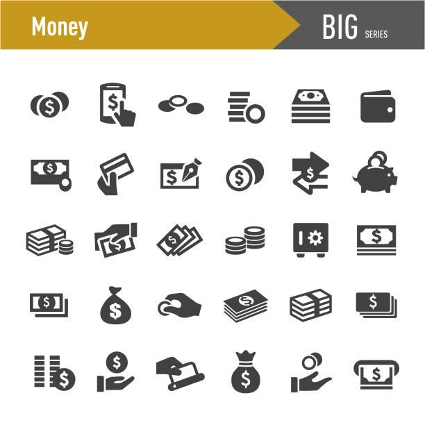 貨幣圖示-大系列 - money 幅插畫檔、美工圖案、卡通及圖標