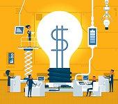 Transformation idea to money