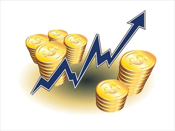 money maker vector art illustration