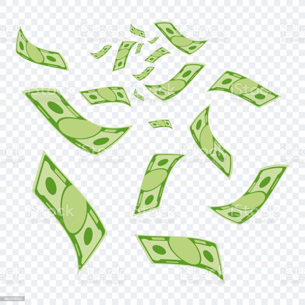 argent sur transparent - Illustration vectorielle