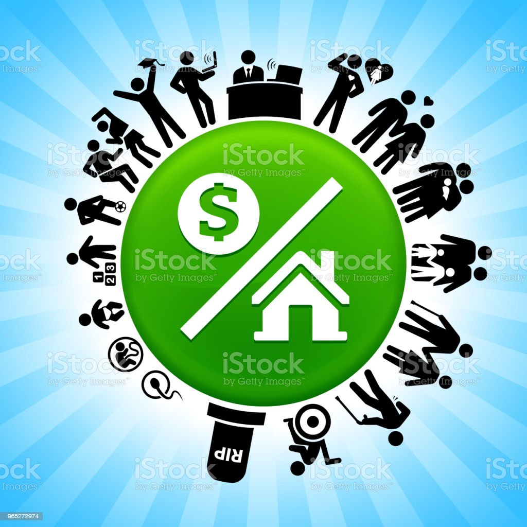Money over House Lifecycle Stages of Life Background royalty-free money over house lifecycle stages of life background stock vector art & more images of adolescence