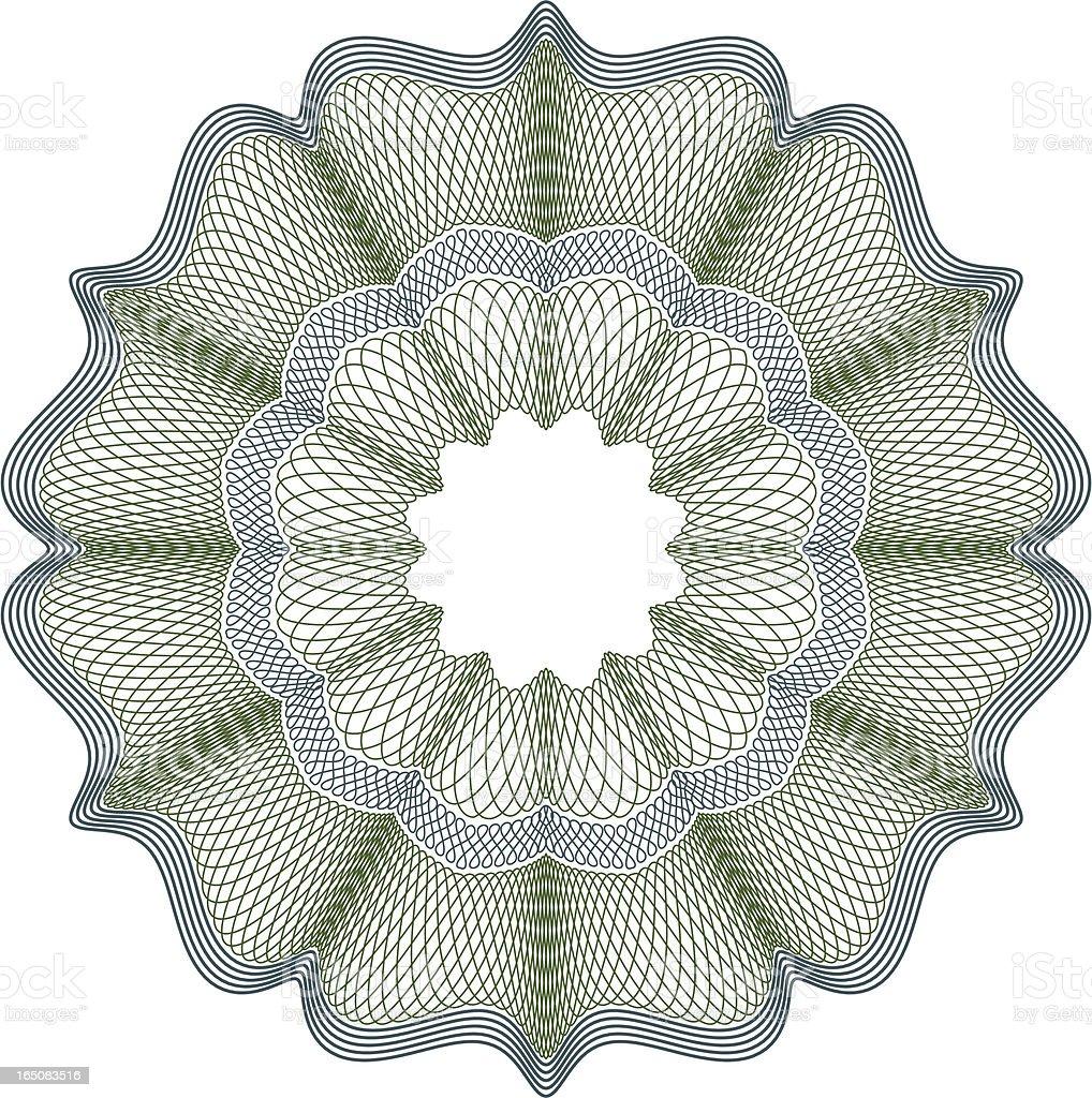 Money Pattern A royalty-free stock vector art
