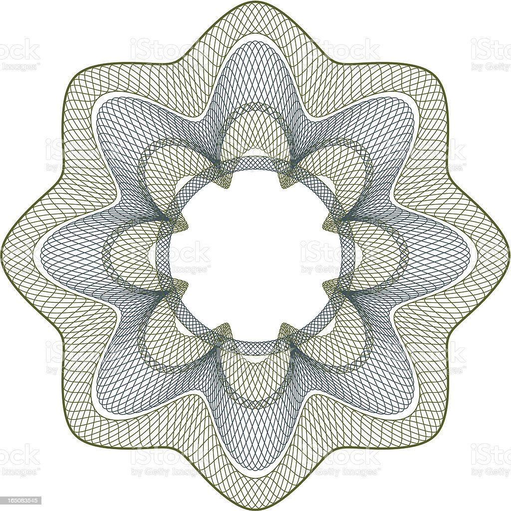 Money Pattern I royalty-free stock vector art
