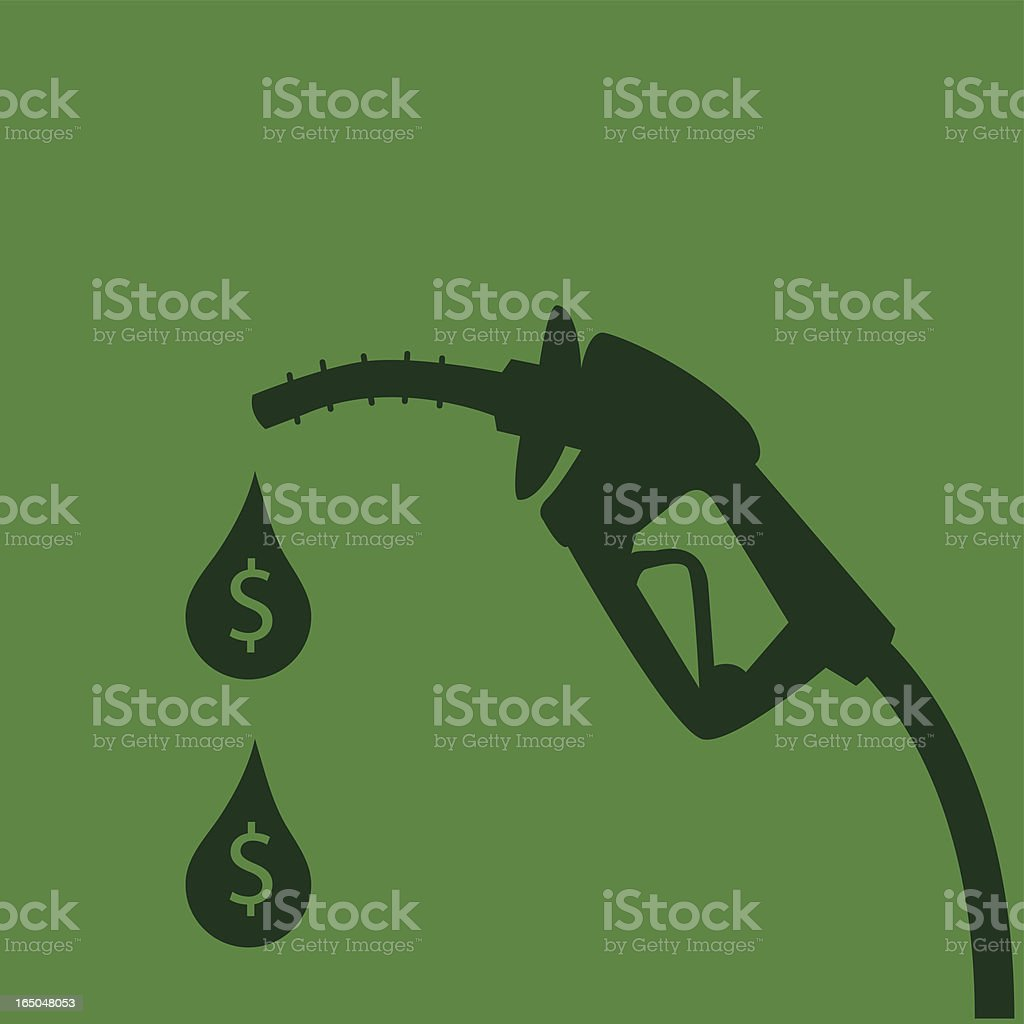 Money pump vector art illustration