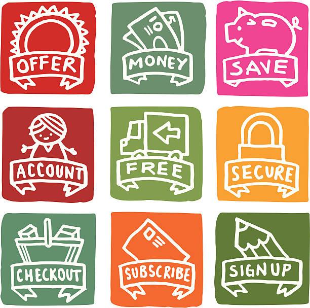 ilustraciones, imágenes clip art, dibujos animados e iconos de stock de dinero iconos relacionados con el conjunto de iconos de bloque - gerente de cuentas