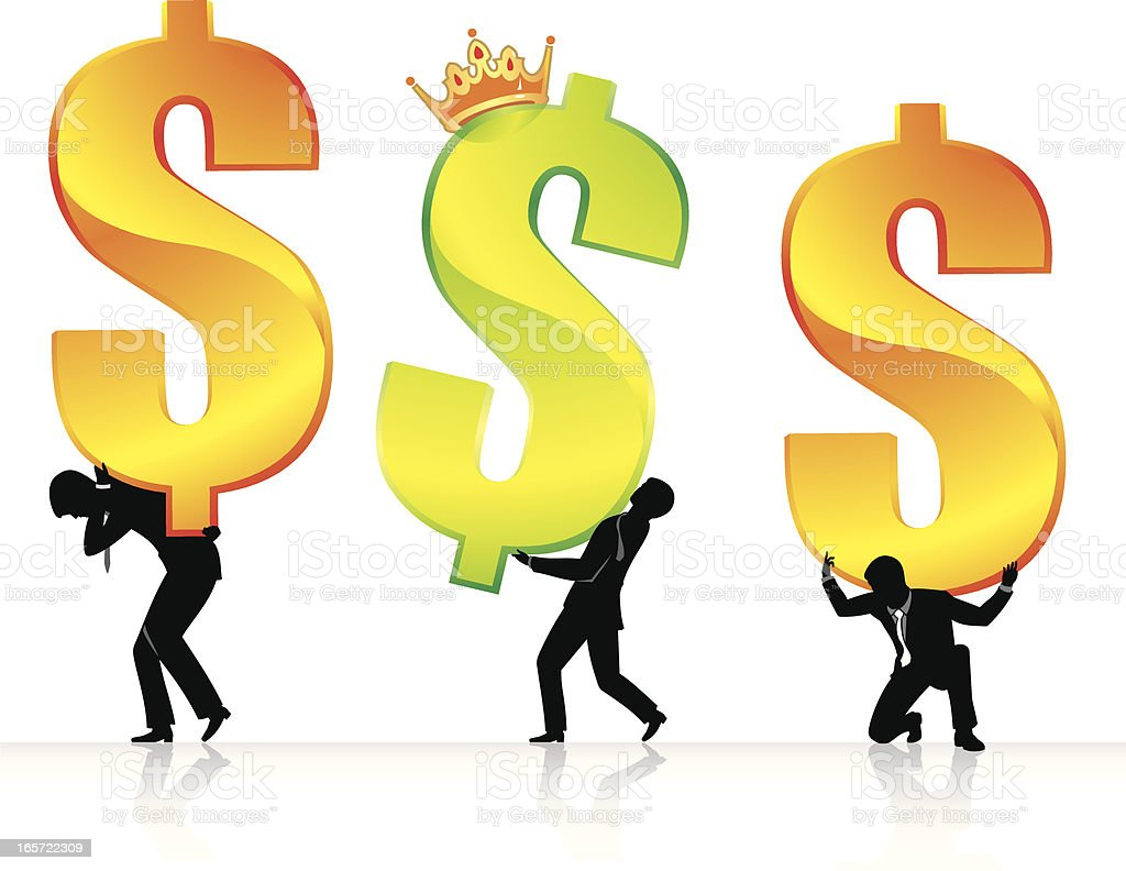 Money Slaves royalty-free money slaves stock vector art & more images of activity