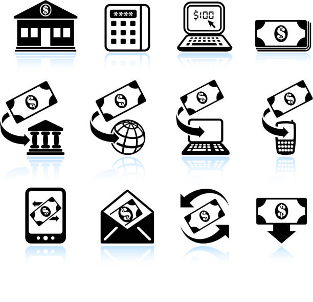 Royalty Free Bank Envelope Clip Art, Vector Images