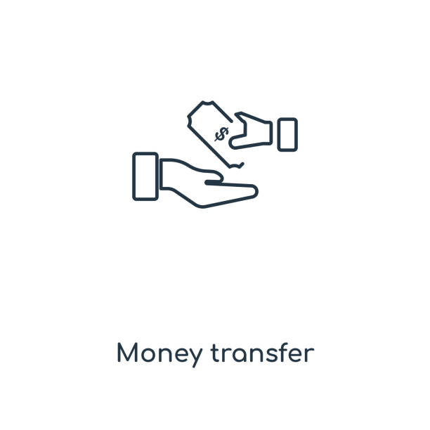 Wire Money Transfer | Royalty Free Wire Money Transfer Clip Art Vector Images