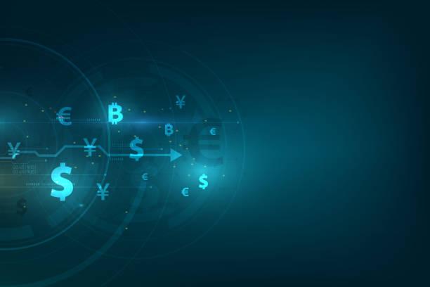 匯款全球貨幣。證券交易所股票向量圖。 - 國際比賽 幅插畫檔、美工圖案、卡通及圖標