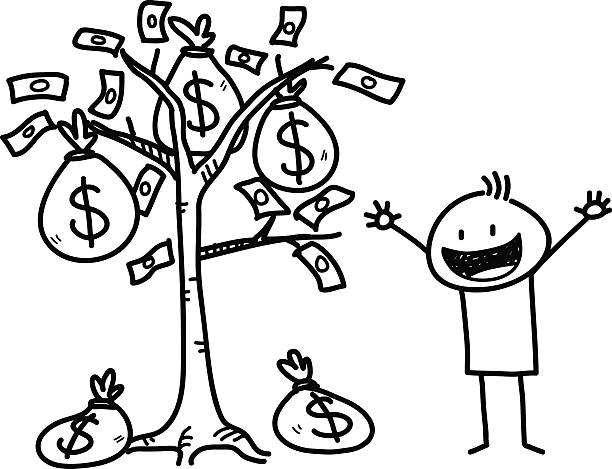 Best Money Tree Illustrations, Royalty-Free Vector ...
