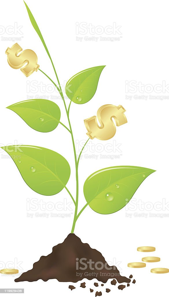 Money tree royalty-free money tree stock vector art & more images of branch - plant part