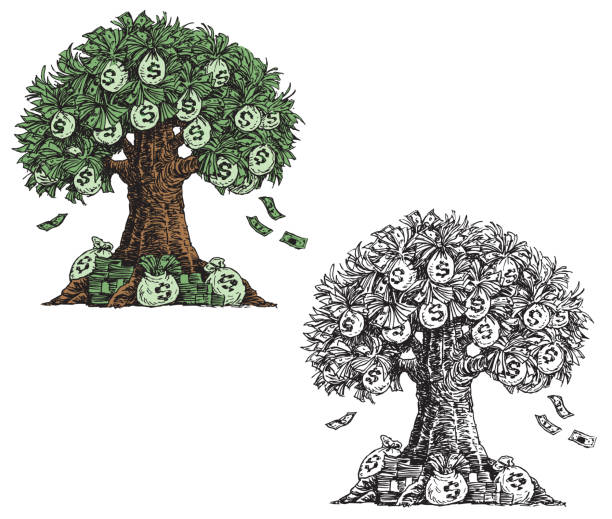 Money Tree Illustrations, Royalty-Free Vector Graphics ...
