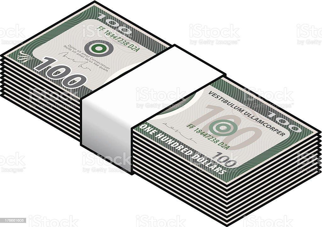 Dinero ilustración de dinero y más banco de imágenes de actividad comercial libre de derechos