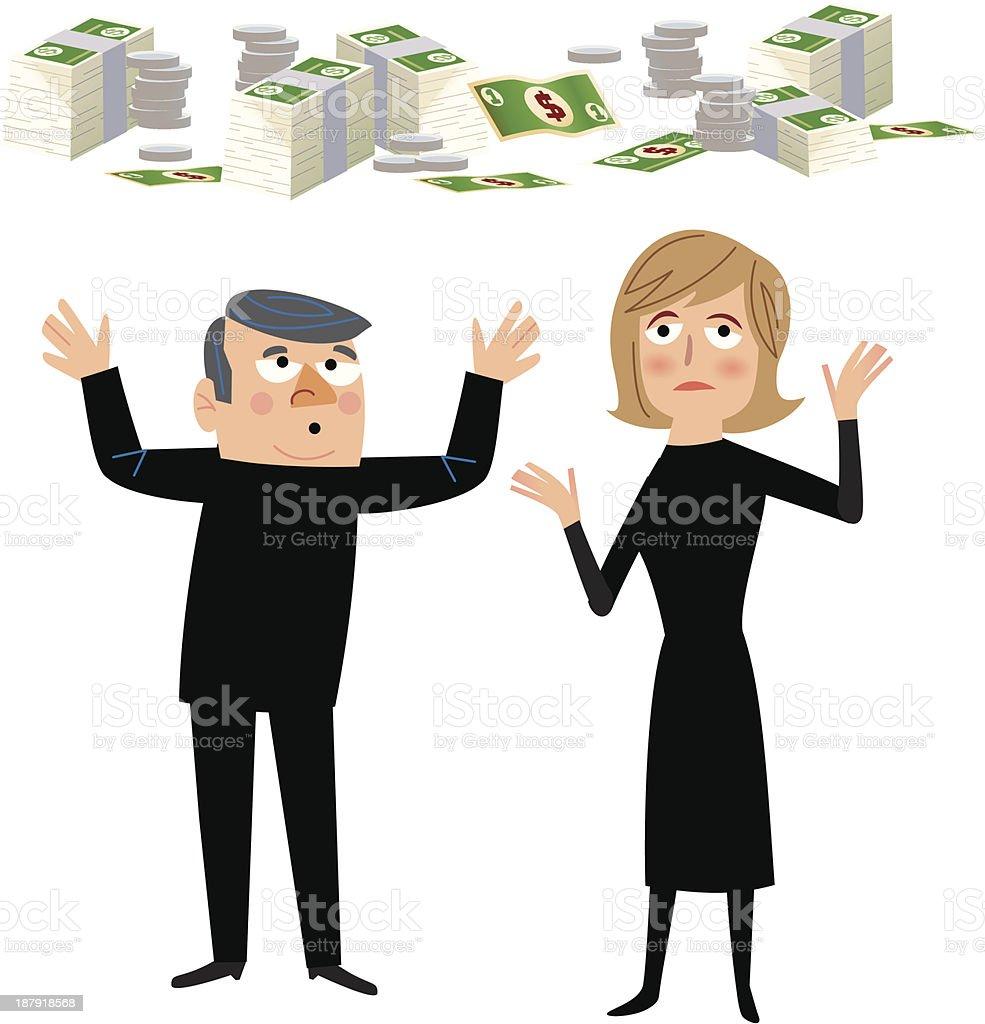 Money Worries royalty-free money worries stock vector art & more images of adult