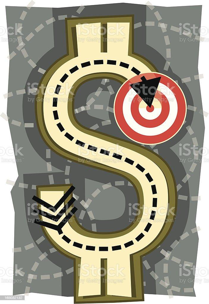 Money-Target royalty-free moneytarget stock vector art & more images of arrow symbol