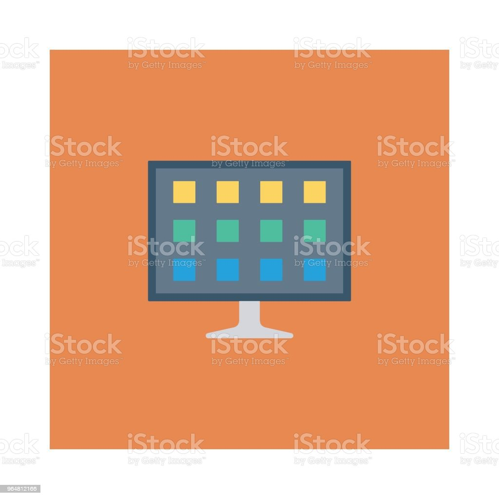 monitor royalty-free monitor stock vector art & more images of backgrounds