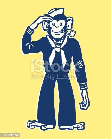 istock Monkey Sailor 181254048